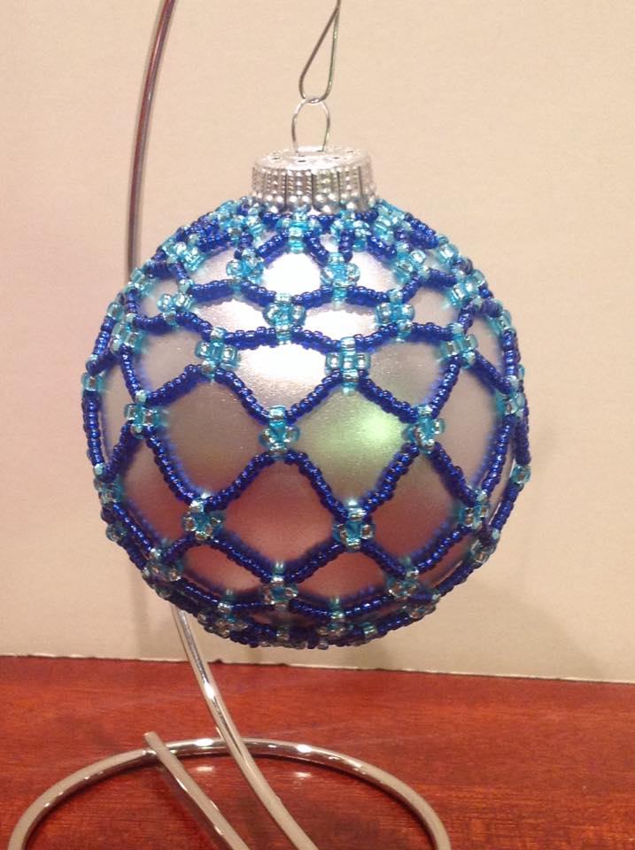 Full Starry Night ornament (Item #4108) $15.00