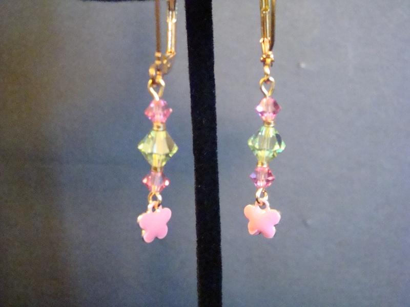 Jenny Lee Designs Pink Flowers (Item #3149)  $5.00