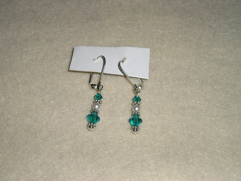Cervical Cancer Awareness Earrings (Item #3008) $7.50