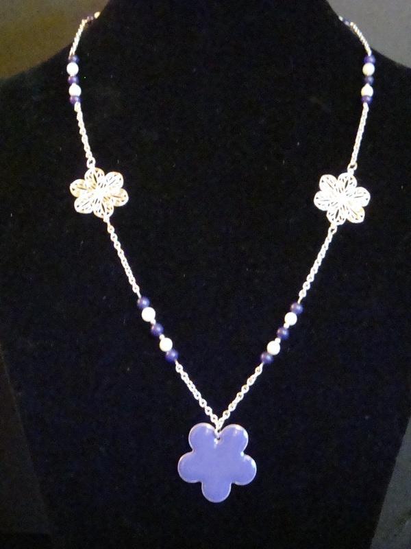 Purple Flower Power (Item #1089)  $20.00
