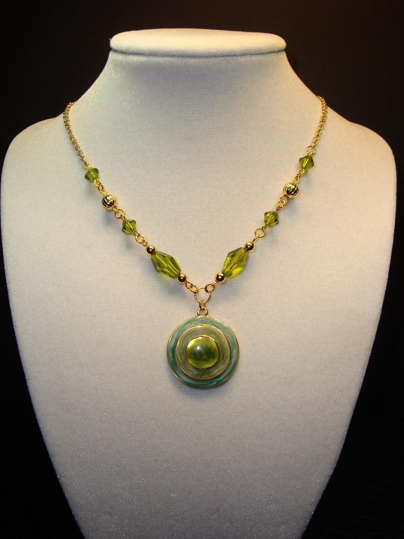 Green Bulls Eye (Item #1154)  $10.00