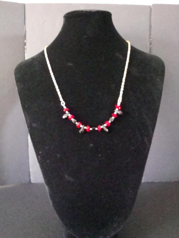 Black & Red Elegance (Item #1066)  $25.00