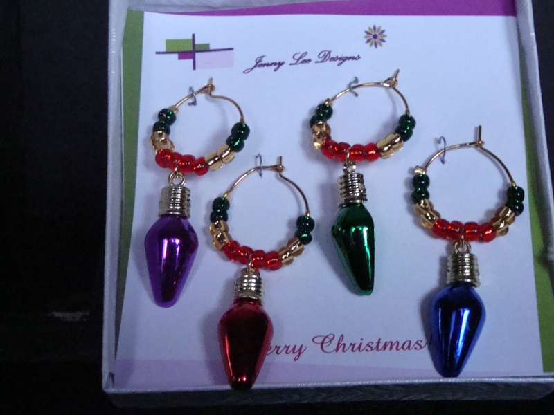 Cheers to Christmas Lights (3) (Item #4024)  $5.00
