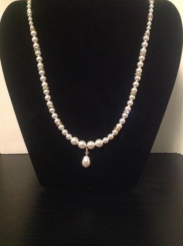 Gold 'N' Pearls (Item #1245) $25.00