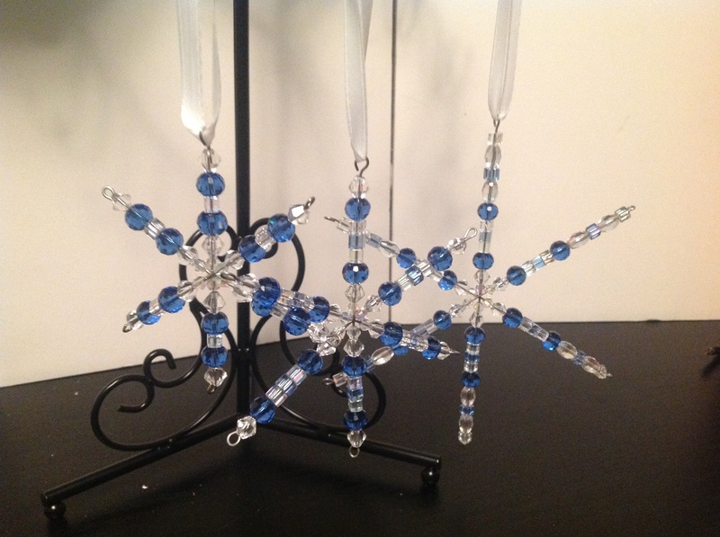 Blue Snoflakes Set (Item #4084) $18.00