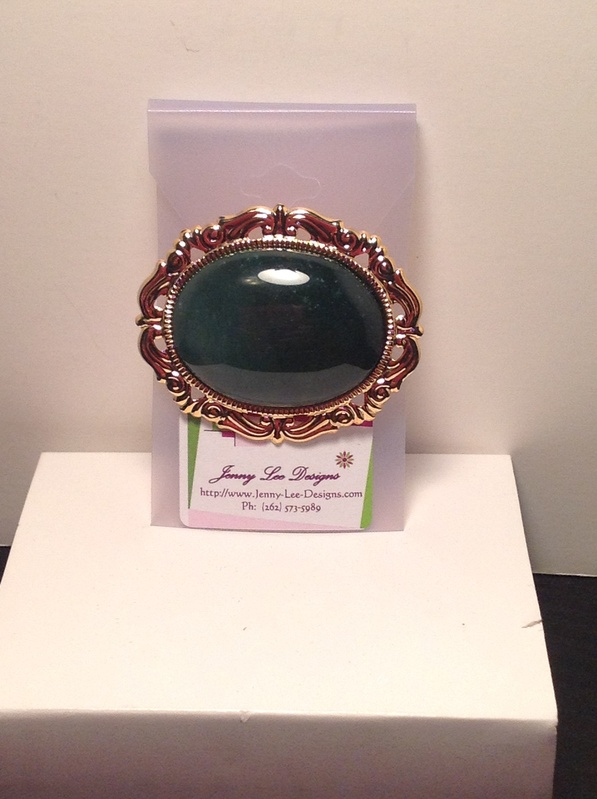 Agate 2 Pin (Item #4094) $5.00