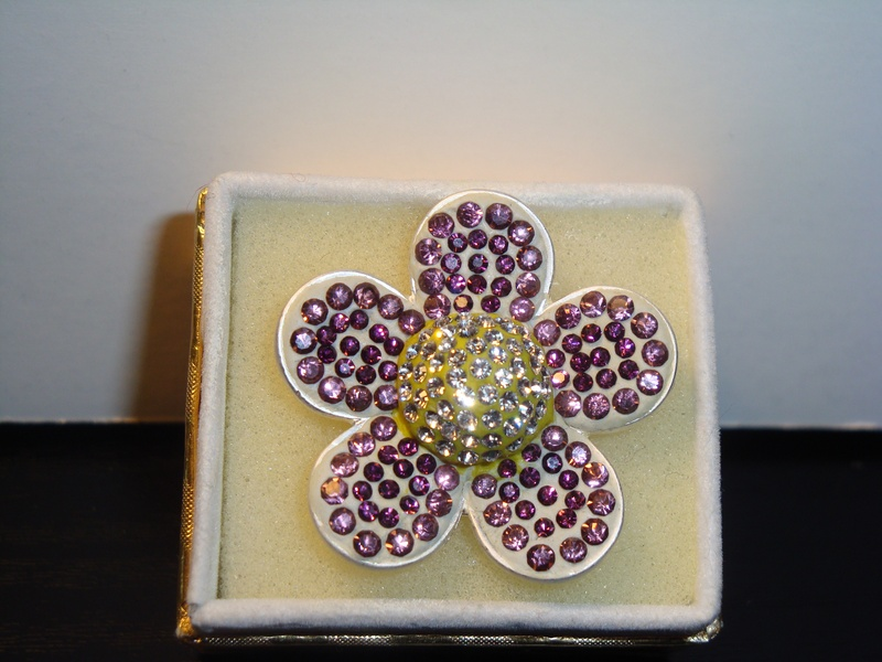 Purple Spring Flower (Item #5044) $20.00
