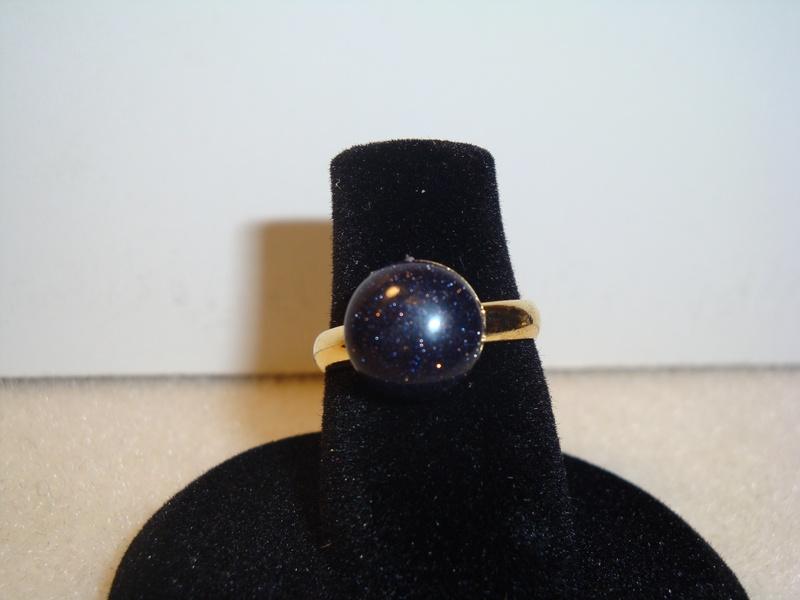 Blue Goldstone (Gold) (Item #5051) $5.00