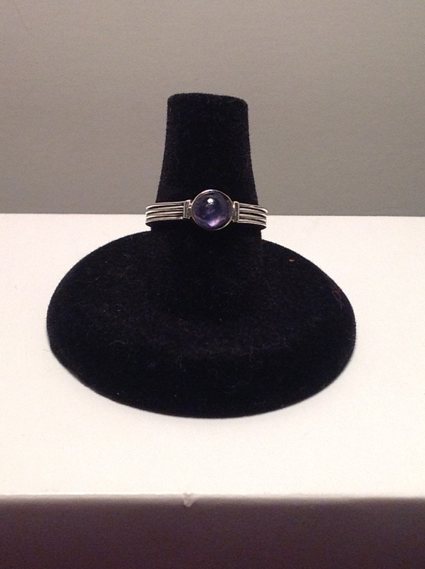 Sterling Iolite (Item #5068) $22.50